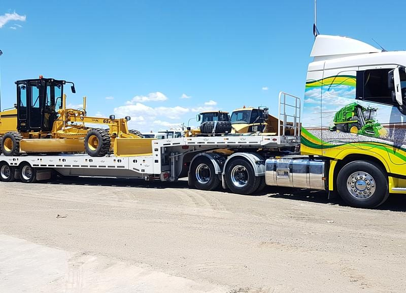 New NorAm 65E Grader Welcomed to the Fleet