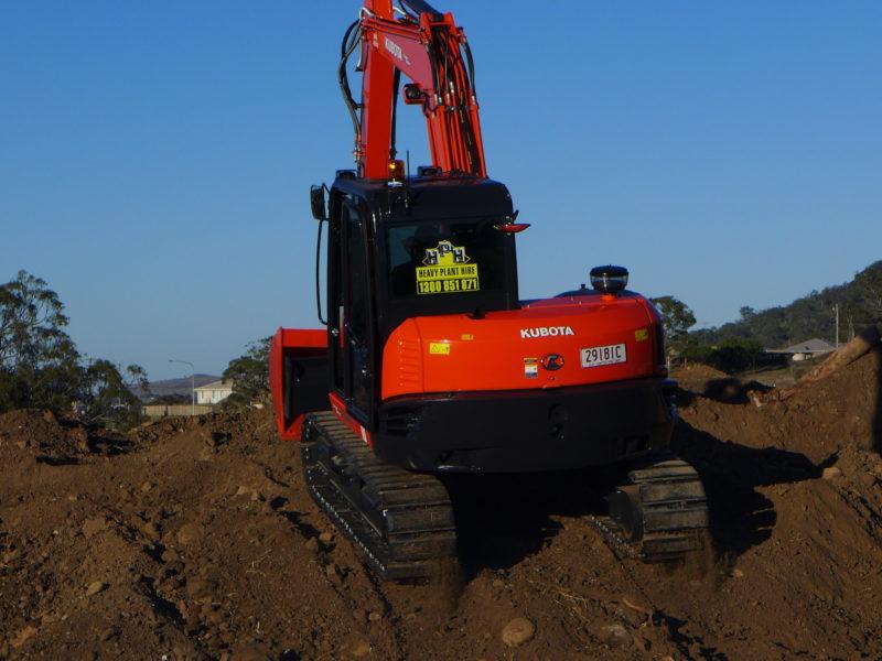Kubota KX080-3 Excavator
