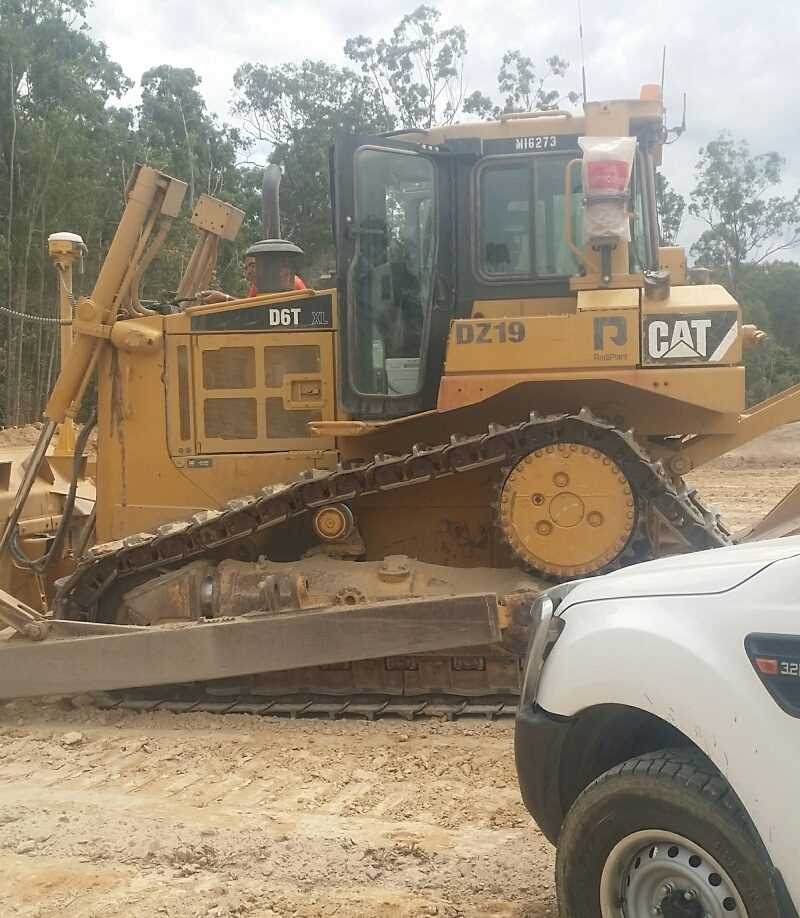 Cat D6T with GPS