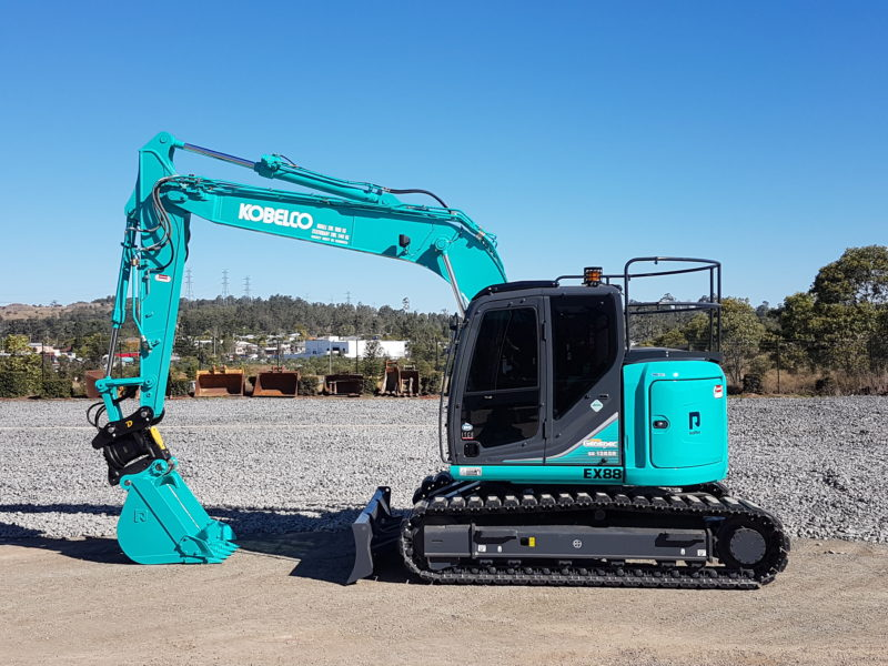 2017 Kobelco SK135SR-2 Excavator
