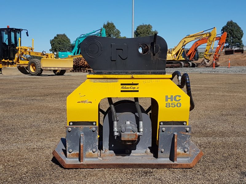 Atlas Copco HC850 Compaction Plate to suit 13 Ton Excavator