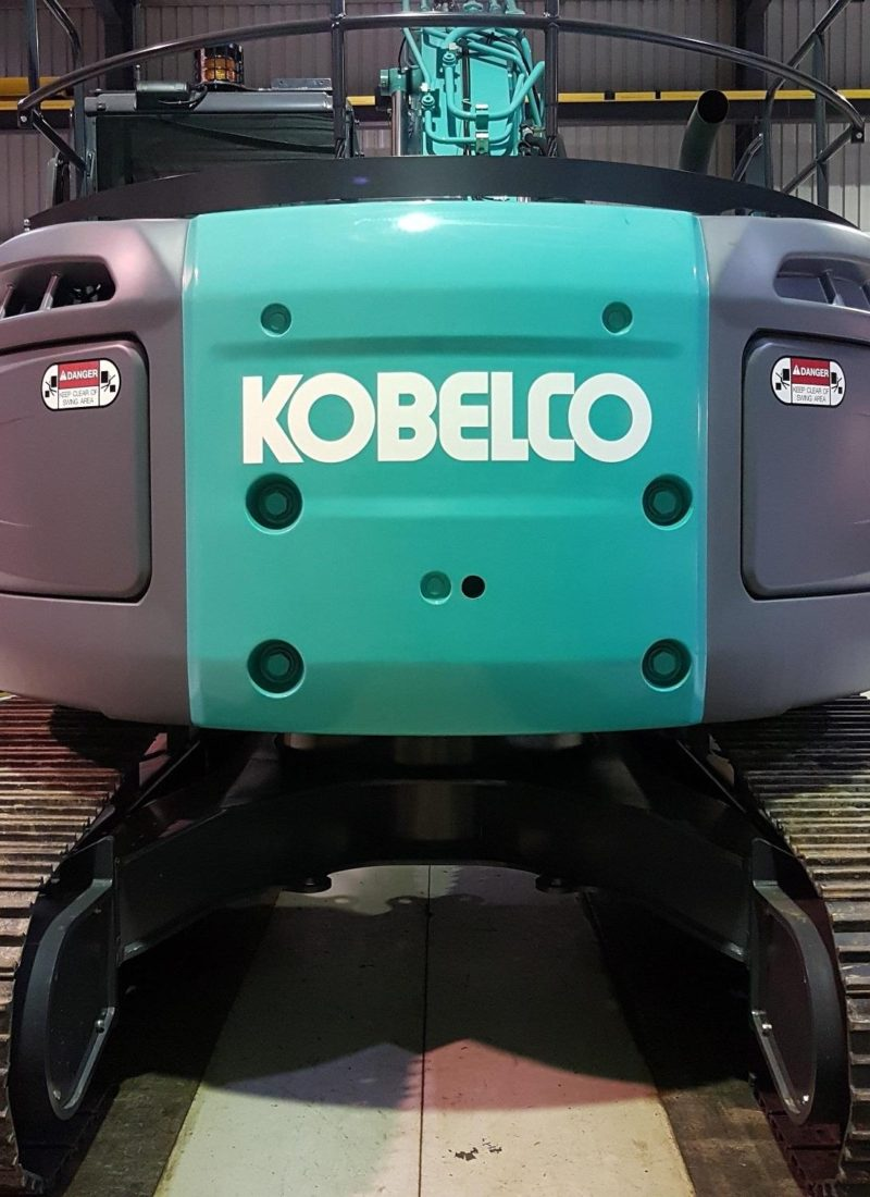 Guess what model Kobelco Excavator RediPlant took delivery of today?