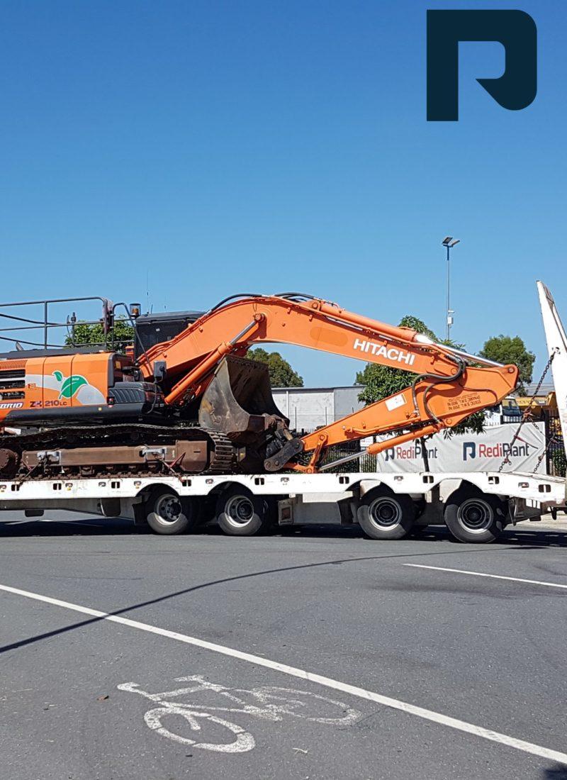 Hybrid Hitachi ZH210LC Excavator