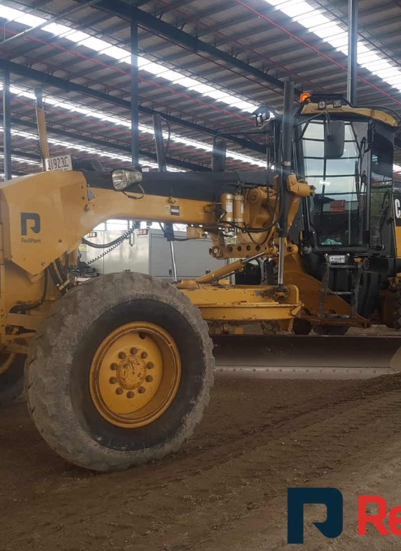 RediPlant's #Cat 140M #Grader with #Trimble UTS