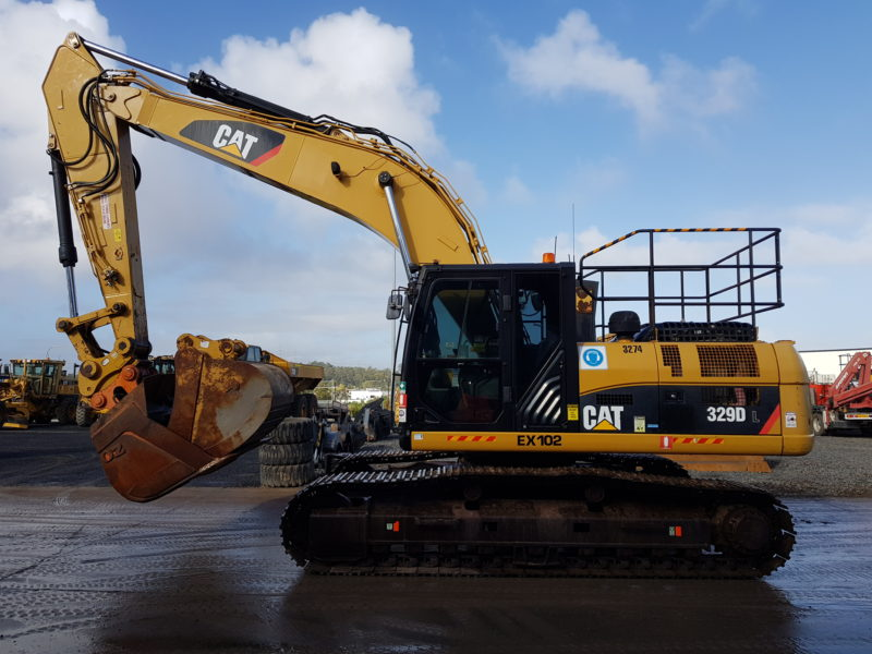 EX102 Caterpillar 329DL