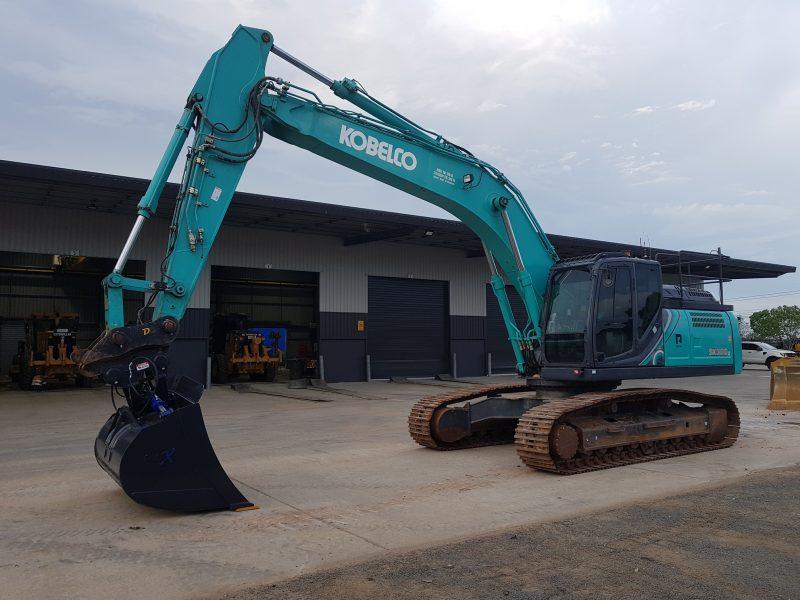 EX105 Kobelco SK300LC-10 Excavator